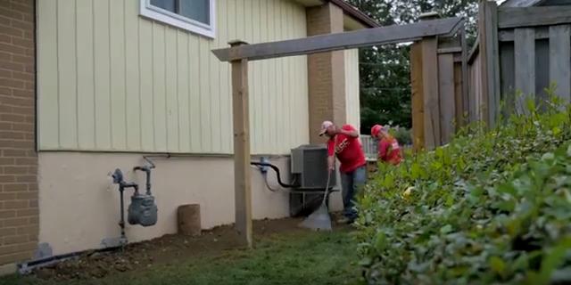 Waterproofing Clean Up