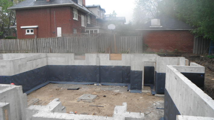 Waterproofing Newer Homes - New Construction - RCC Waterproofing Toronto  Wet Basement