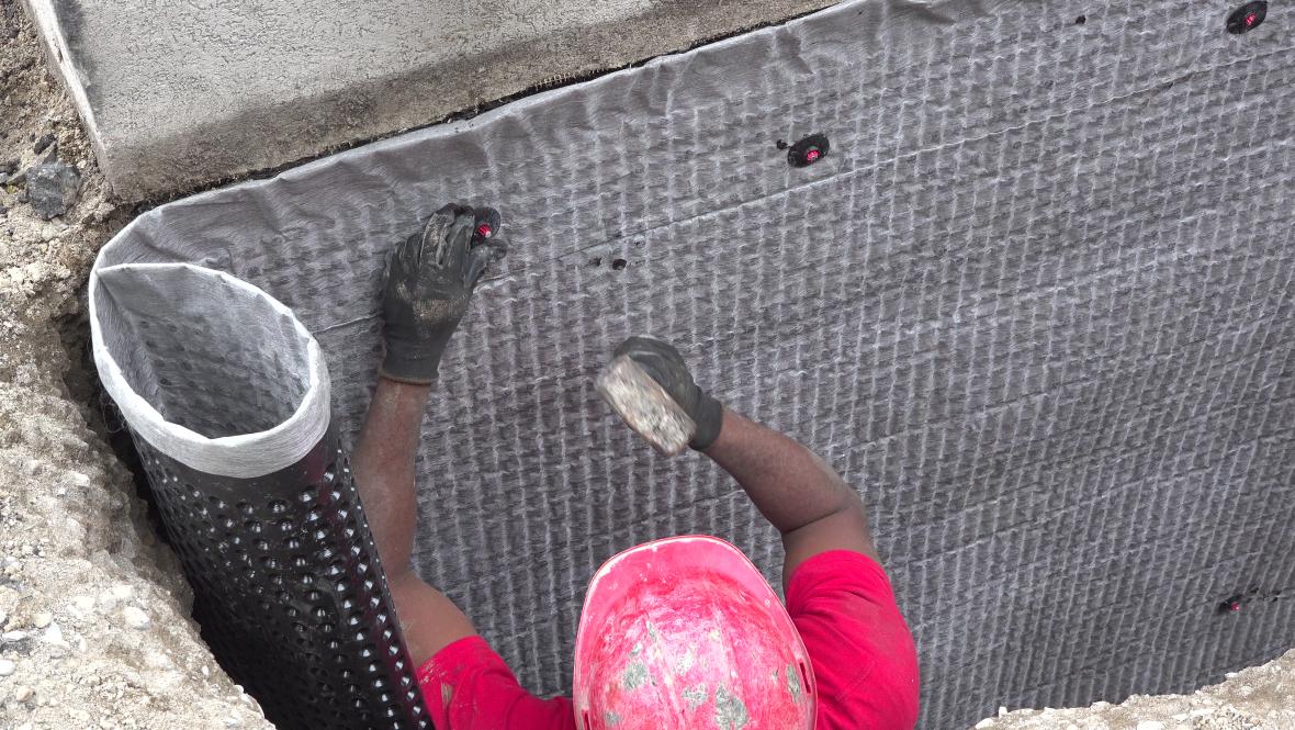installing DMX membrane