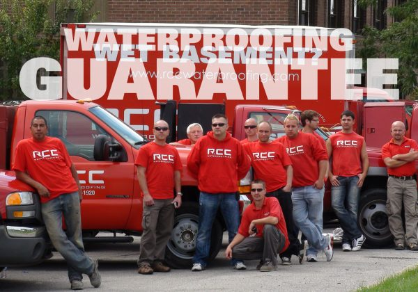 rcc waterproofing guarantee