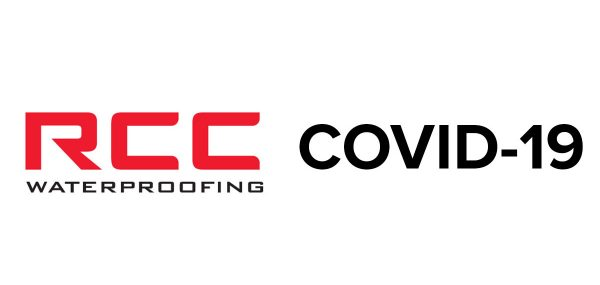 rcc waterproofing covid-19