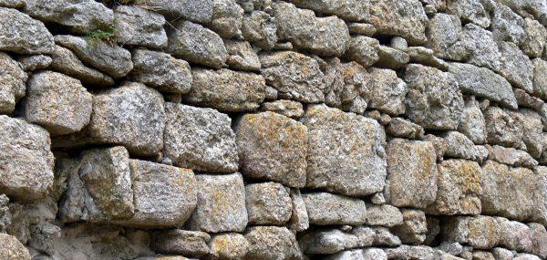 cobble stone foundation wall